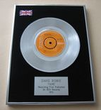 DAVID BOWIE - FAME PLATINUM Single Presentation DISC